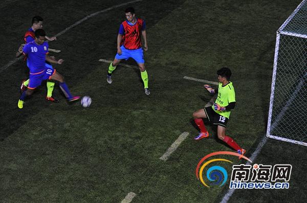 三亚五人制足球联赛开赛 冠军将参加分省联赛