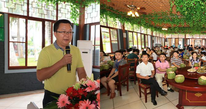 文昌副市长向全国网媒推介文昌:这里有海南最长的海岸线