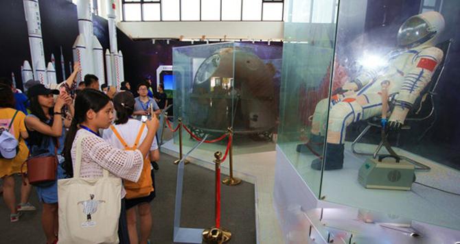网媒记者走进文昌航天主题乐园 感受祖国航天事业的发展