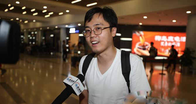 首位网媒记者抵达海口:期待看见海南的碧海蓝天