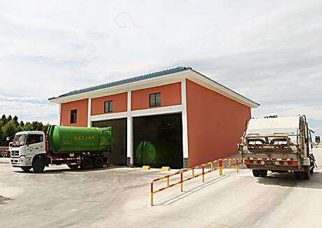 西北片区生活垃圾收集转运项目计划建17个转运站