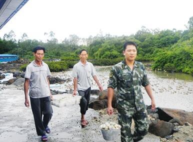 儋州警地扶贫产业项目投产 8000只跑海鸭产生效益