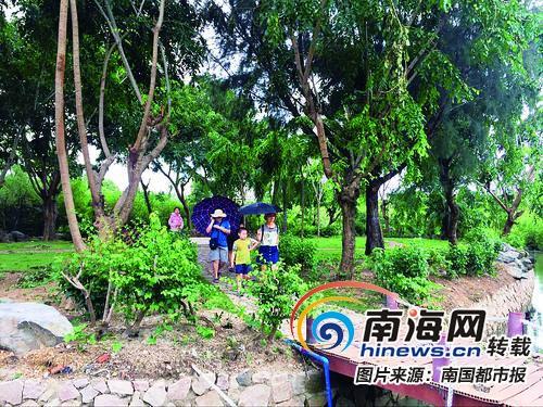 <b>还绿于民!三亚收回近10万平米公园绿地 免费对市民开放</b>