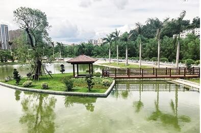 再增一个湿地公园!三亚金鸡岭桥头公园建成投用
