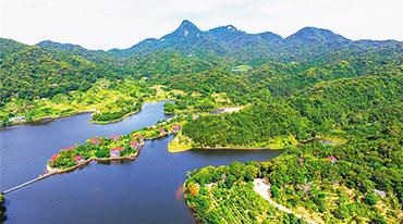 尖峰岭严守生态保护底线 适度发展森林旅游