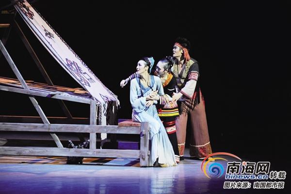 """民族舞剧《黄道婆》全新演绎 再现""""纺织女神"""""""