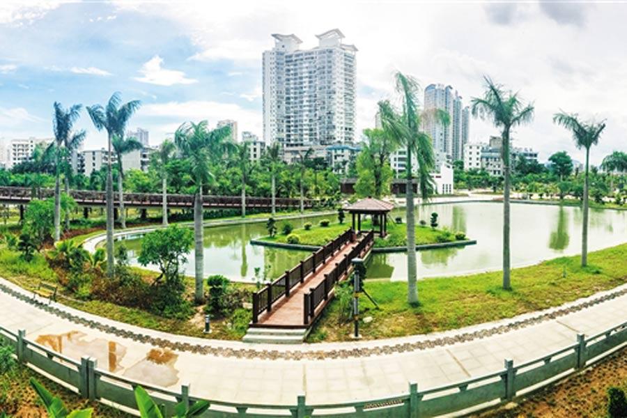 好消息!三亚今年将添5个城市公园