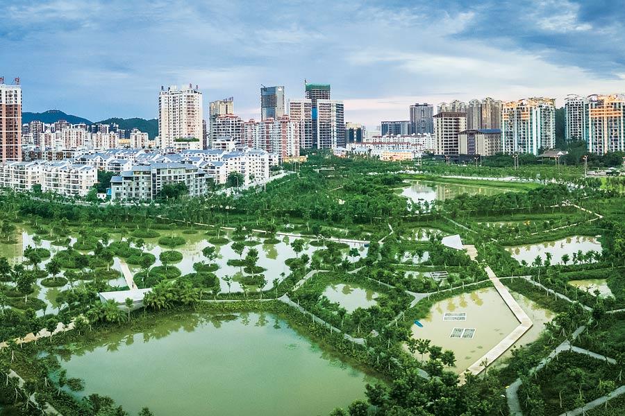 """海南创新农村环境治理模式 让美丽乡村留住""""乡愁"""""""