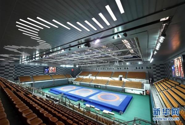 全运技术变成:天津职业实线师范大学体育馆cad如何6场馆把虚线巡礼图片