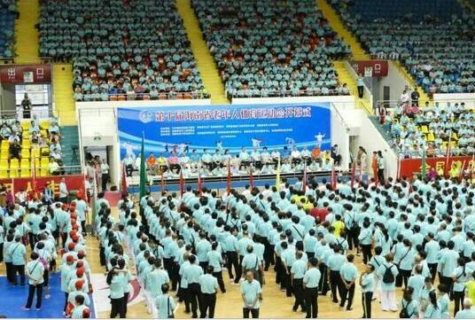 第十届省老年人体育运动会拉开序幕 陵水代表团开局良好