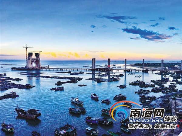 海南省交通运输厅在铺前大桥建设中认真贯彻绿色环保理念