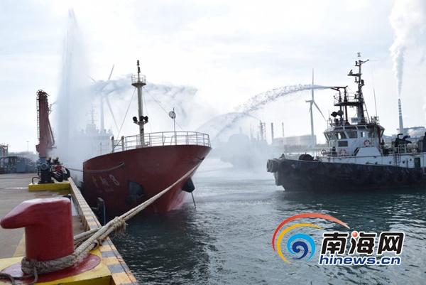 海南省港航管理局开展港口应急演练