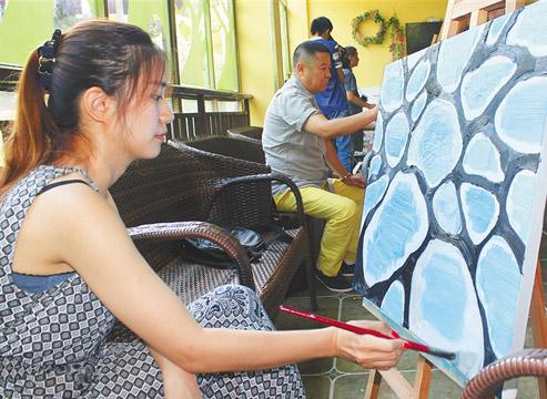 30名中国艺术名家赴儋州采风创作