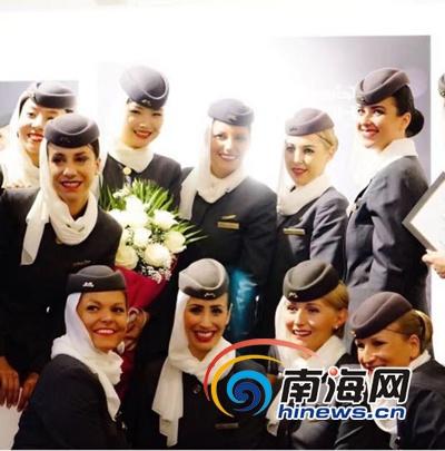 在外国航空公司当空姐是怎样的体验? 她在三亚这样说