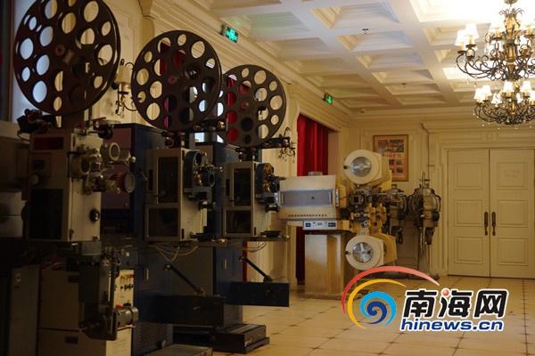 彩霸王海南首家电影博物馆建成 展出世界各国古董级放映机