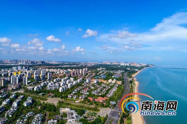 海口西海岸生态修复初显成效 椰城现高颜值颜容
