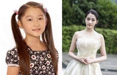 关晓彤,小时候漂亮,长大更漂亮.她是少有的,长大更红的童星.