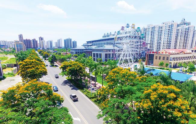 儋州加快城市道路基础设施改建已投资逾5000万元