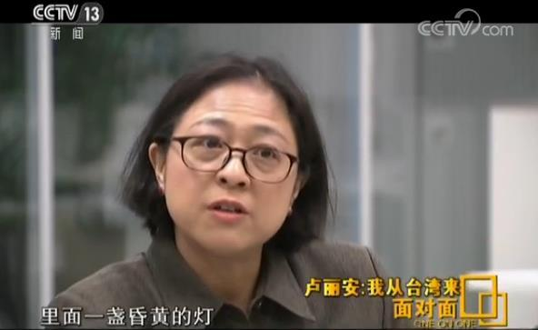 【面对面】卢丽安:我从台湾来