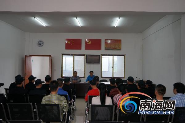 """澄迈县政法委到加乐镇举办""""宣讲+综治""""活动"""