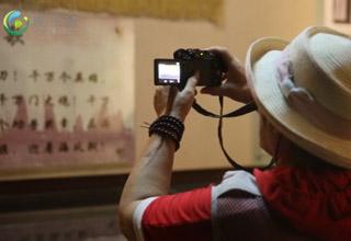 网媒记者参观临高角解放公园