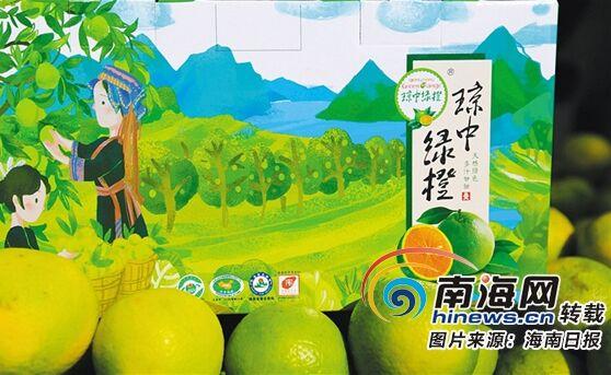 琼中创新正宗果品辨别管理模式 为绿橙品牌护航