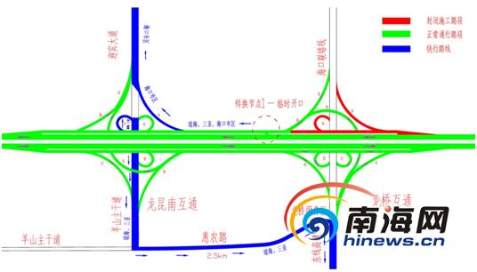 高速→羊山大道→惠农路由龙桥服务区驶入东线高   未能根据标志牌引图片