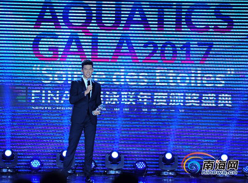 【椰年度】孙杨获国际泳联颁发的视频中国v年度h私密视频图片
