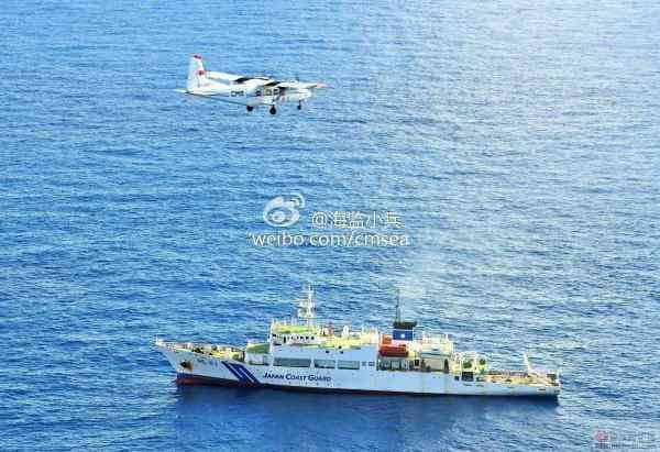 中国海监运-12飞机于2012年12月首次飞抵钓鱼岛领空巡航。感谢图片作者。
