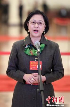 卢丽安当选全国台联第十届常务理事会副会长