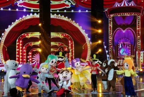 安徒生艺术团首登央视舞台 《我要上春晚》精彩亮相