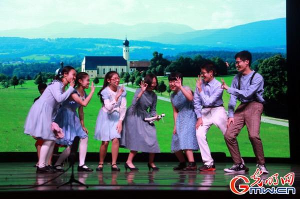 北京五中第六届英语戏剧节在东城区图书馆举行