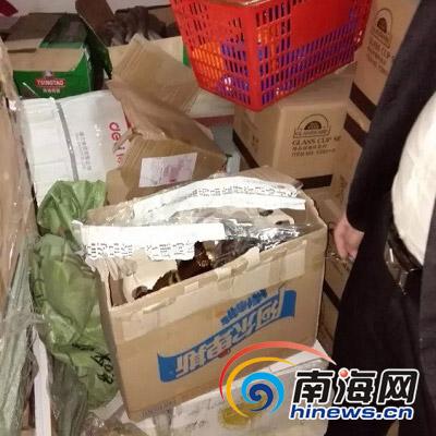 屯昌一KTV经理擅自撕毁食药监局封条 被行拘5日
