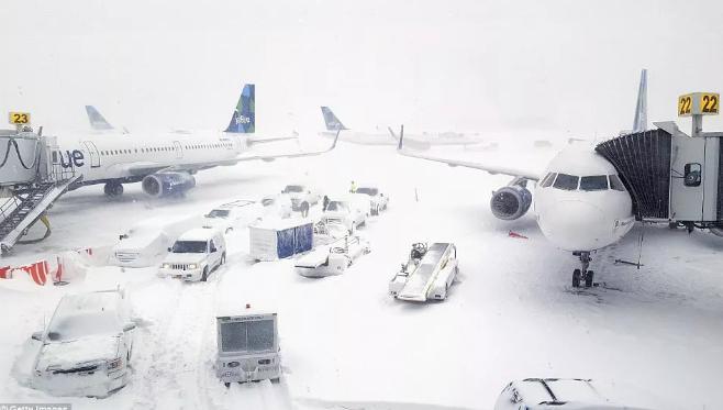 冬天飞机上的温度