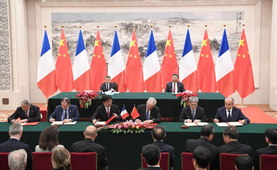 中法两国元首共同见证 三亚与法电集团签署合作