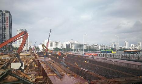三亚大桥重建工程完成七成 预计今年上半年竣工验收