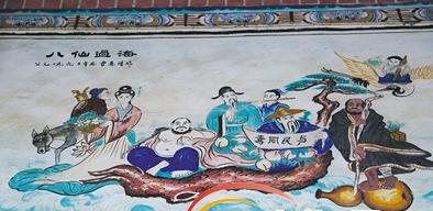 走出国门的文昌民居壁画:取材广泛乡土气息浓郁