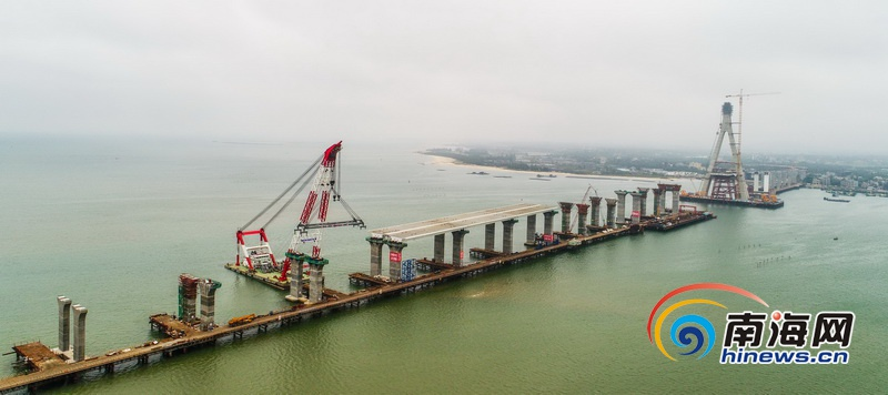 铺前大桥累计投资超40亿元 完成总量82.7%