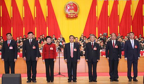 刘赐贵当选海南省人大常委会主任 沈晓明当选海南省省长