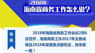 一图读懂 | 2018年海南省商务工作怎么做?