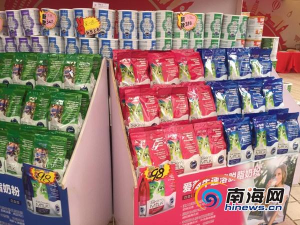 """买奶粉到海口保税年货节!澳洲科蒂艾薇牛配方奶粉""""买一送一"""""""