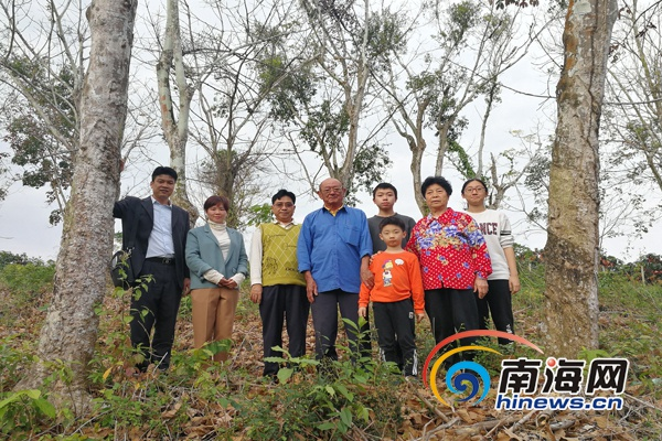 海南农垦博物馆连续7年春节慰问文物捐赠者代表