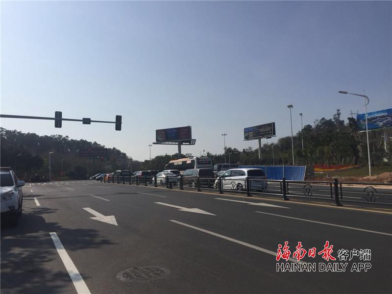 三亚多个道路工程功能性通车 去海棠湾南山等更便捷
