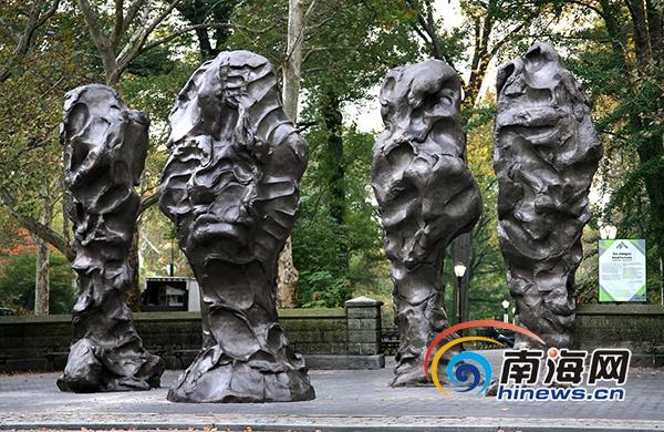 """""""海南城市公共艺术计划——来自中英的艺术家""""雕塑展将于海口开幕"""