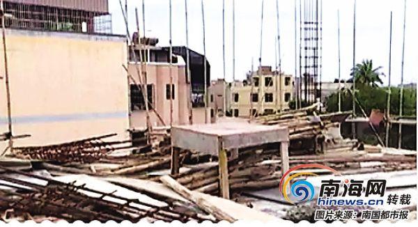 报建3层盖4层 海口一业主合法楼盖着盖着成违建