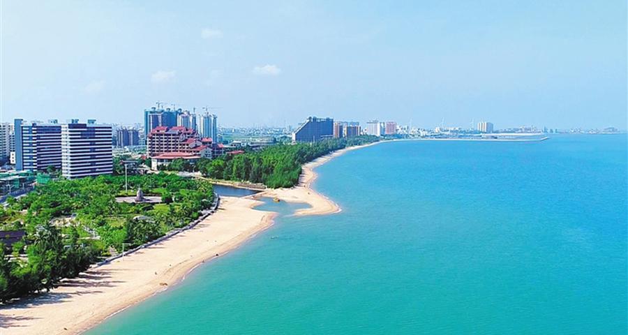 东方热带滨海花园城市展新颜