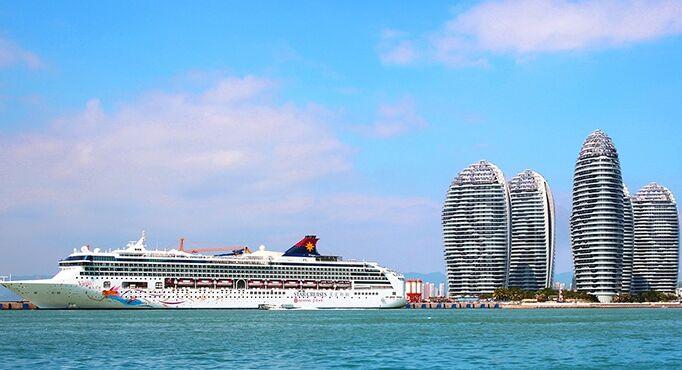 连续3次被评全国最佳服务港口 亚洲最大邮轮母港初展雄姿
