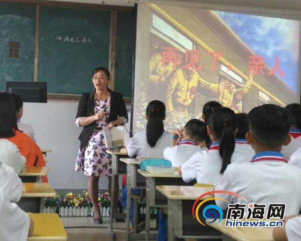 儋州65名中小学教导主任参加公开课教学评比