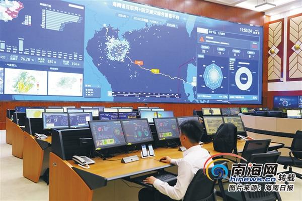习近平总书记在海南考察回访记|第五站:省政务数据大厅