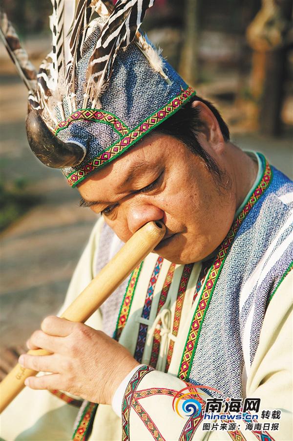 海南黎族音乐:代代传承有死水 曲曲传情如心声